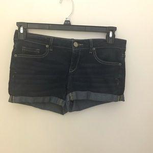 Aeropostale Dark Wash Denim Shorts